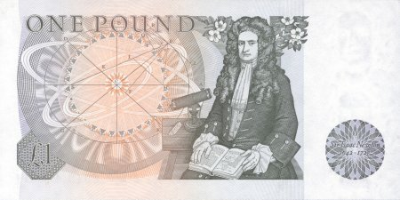Isaac Newton on £1