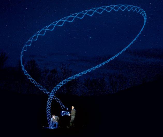 Path of a boomerang