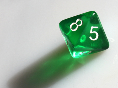 8 sided dice roller