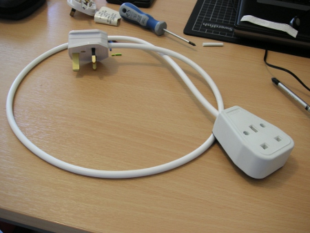 How to make an extension cord | MrReid.org Wiring Extension Cord on