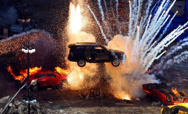 Car Crash Explosion Sound