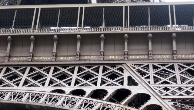 An interesting fact about the eiffel tower for Names of famous towers
