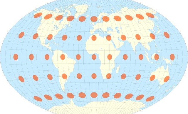 Winkel III projection