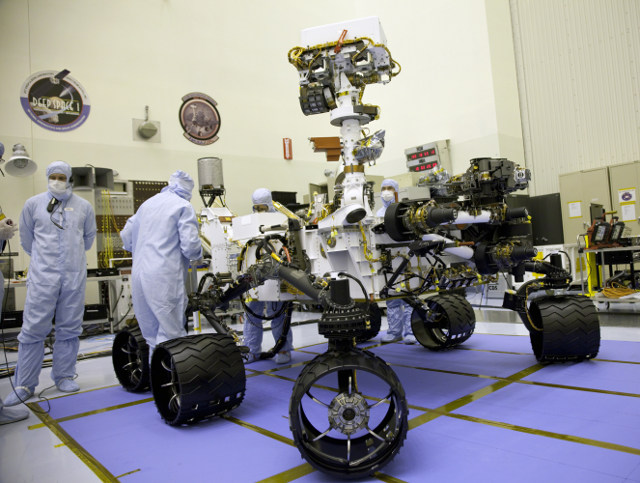 curiosity rover battery - photo #17