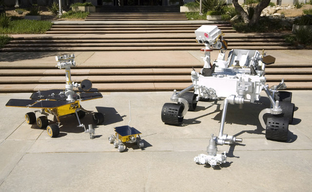 curiosity rover size comparison - photo #1