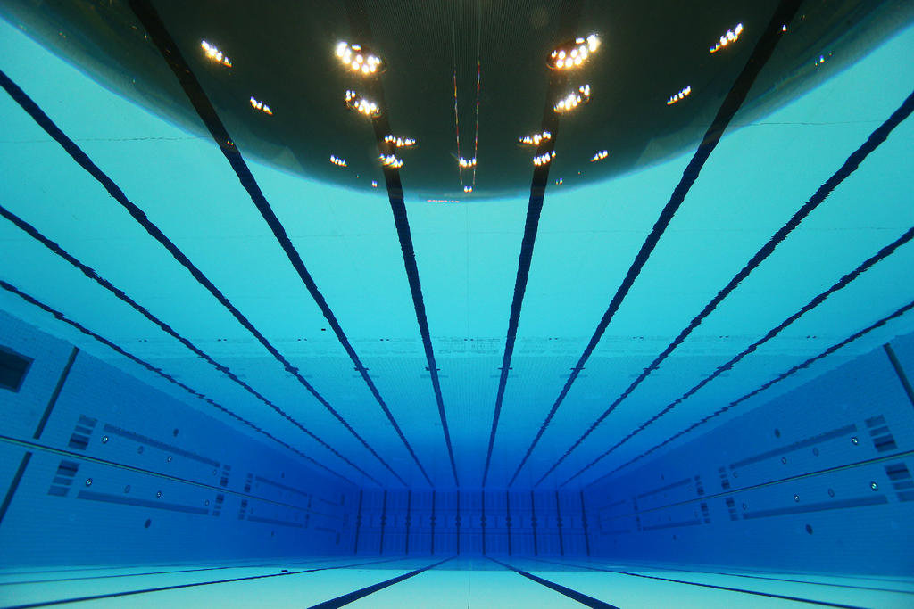 light - Olympic Swimming Pool Underwater